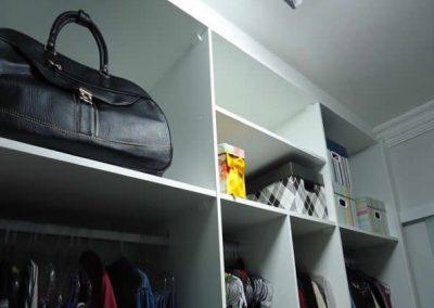 Marcenaria Miranda Design - Closet Branco e Linho -Miranda Design em Santo André