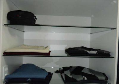 Marcenaria Miranda Design - Closet Branco e Linho -Santo André