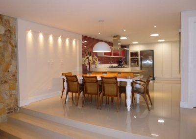 Marcenaria Miranda Design - Cozinha Rosa Pastilha Vidro