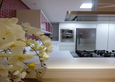 Marcenaria Miranda Design - Cozinha Rosa Pastilha Vidro (3)