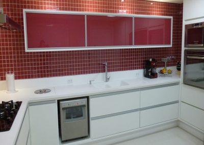 Marcenaria Miranda Design - Cozinha Rosa Pastilha Vidro (6)