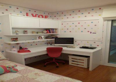 Marcenaria Miranda Design - Dormitório menina Vila Pires Santo André (4)