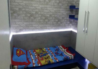 Marcenaria Miranda Design - Dormitório menino Azul e amarelo (1)