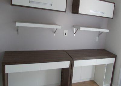 Marcenaria Miranda Design - Home Office com biblioteca -Marcenaria vila pires -Santo André