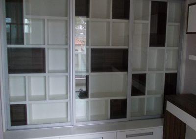 Marcenaria Miranda Design - Home Office com biblioteca -marcenaria vila pires