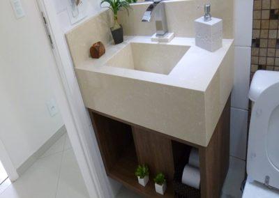 Marcenaria Miranda Design - Lavabo -Santo André Miranda Design