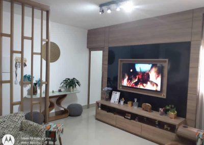 Marcenaria Miranda Design - Painel com porta integrada (3)