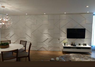Marcenaria Miranda Design - Sala Vila Olimpia Sofatable Painel 3D (2)